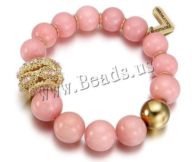 Glass #Beads #Bracelet,  jewelry #making  http://www.beads.us/product/Glass-Beads-Bracelet_p129338.html?Utm_rid=219754