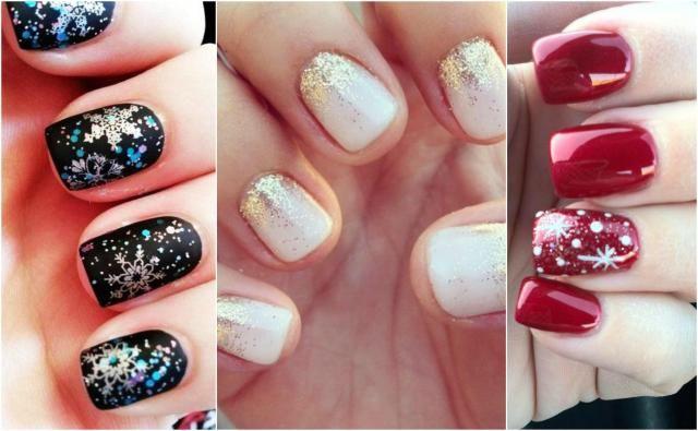 Paznokcie na zimę. Odmień swój dotychczasowy styl! #paznokcie #zima #zimowepaznokcie #manicure