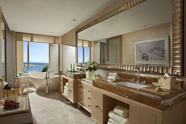 the mulia earl suite bath | bali