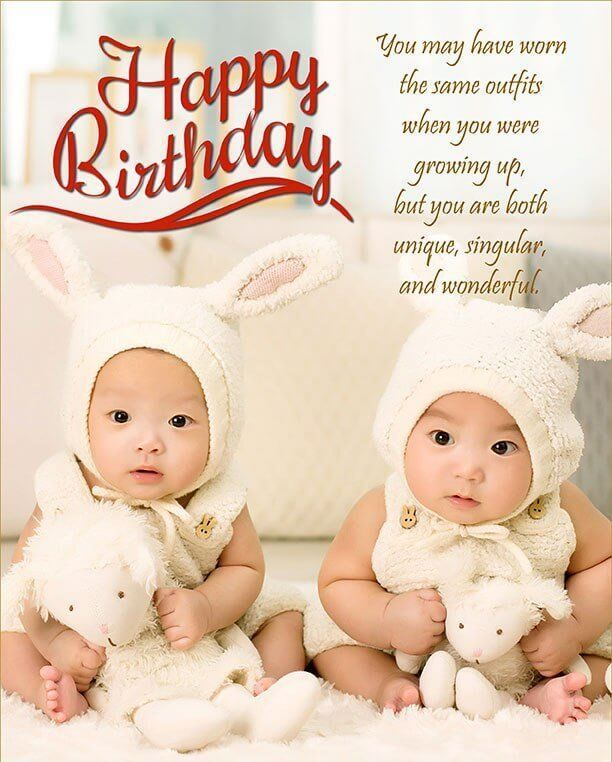 Best 25+ Birthday Wishes For Twins Ideas On Pinterest