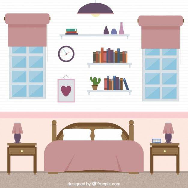 bedroom vector - Google Search