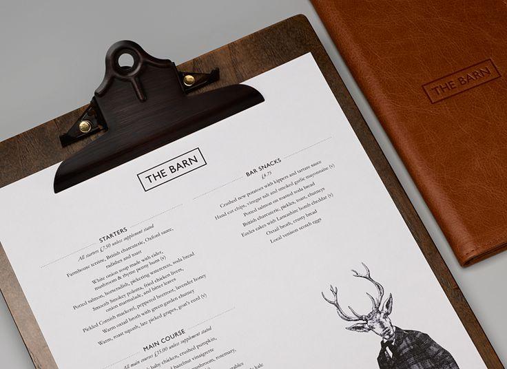fancy lookin' menu!