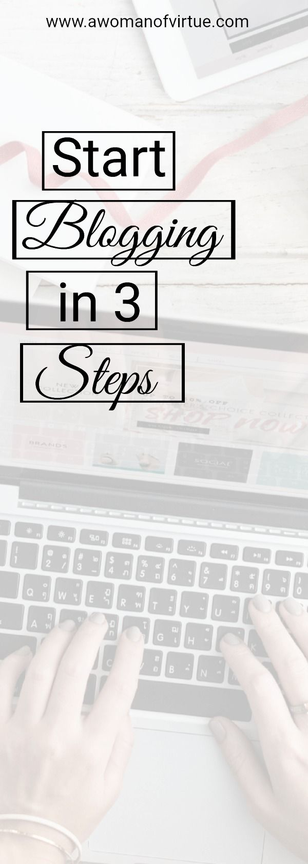 Starting a blog was the hardest thing I've every done. Ok, so having three babies was actually the hardest, but starting a blog was pretty much right behind that...