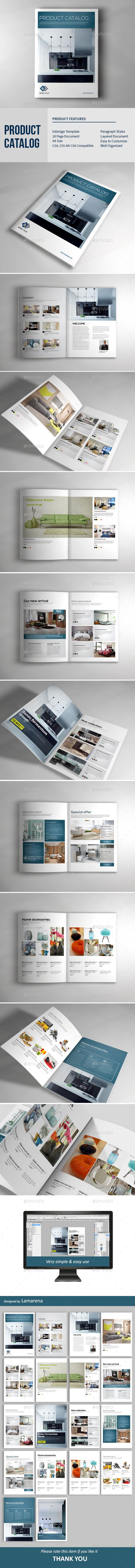 Product Catalog 18 Pages Template InDesign INDD #design Download: http://graphicriver.net/item/product-catalog/14341568?ref=ksioks