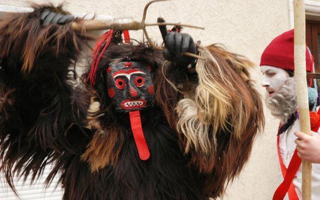 A Tufara CB Molise 12 Febbraio 2013 per scoprire l'antica tradizione carnevalesca del Diavolo