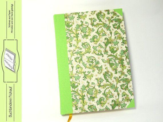 Ewiger Kalender DIN A5 von BuchbindereiFruehauf auf Etsy