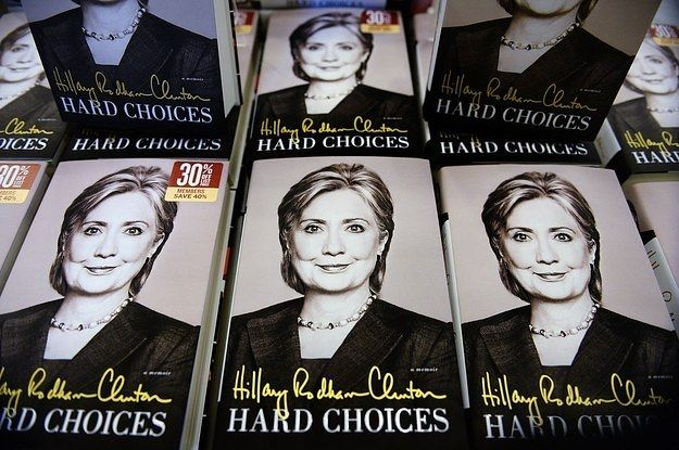 Hillary Clinton's Book Is The No. 2 Hardcover In First Week  Hard Choices sells 85,721 hard copies, according to Nielsen figures. The book topped the nonfiction list, but fell short to a sci-fi romance novel overall.