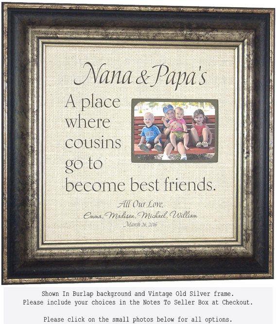 Best 18 Grandparents Gift images on Pinterest   Grandparent gifts ...