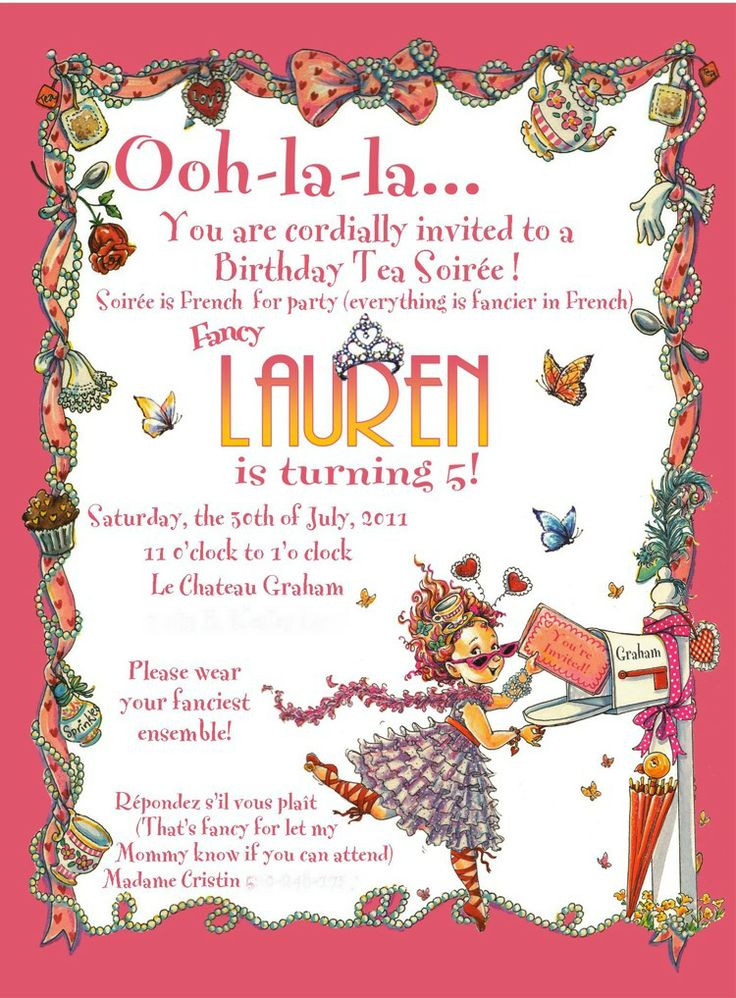 You are cordially invited to attend my birthday party dulahotw 21 best fancy nancy birthday party ideas images on filmwisefo