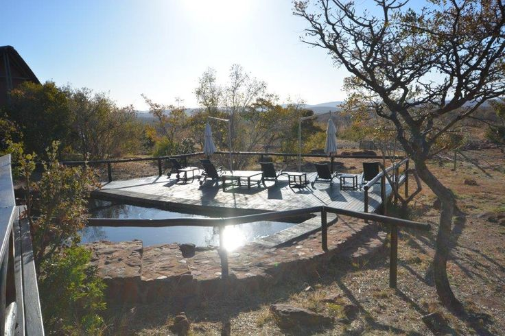 Own this amazing piece of property in the Waterberg. 10 sleeper, 4 star lodge. 2ha property with 4000km worth of traversing rights on a big 5 reserve.   #big5 #gamereserve #4star #luxury #africanbush #southafrica #waterberg #welgevoden #beautiful #landscape #swimmingpool #garden #trees #lodge #guesthouse