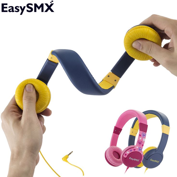 EasySMX KM-666 Portable Kids Headphones Safely Children Over-Ear Headset with  Adjustable headband for Xiaomi Samsung Smartphone //Price: $17.67//     #shop