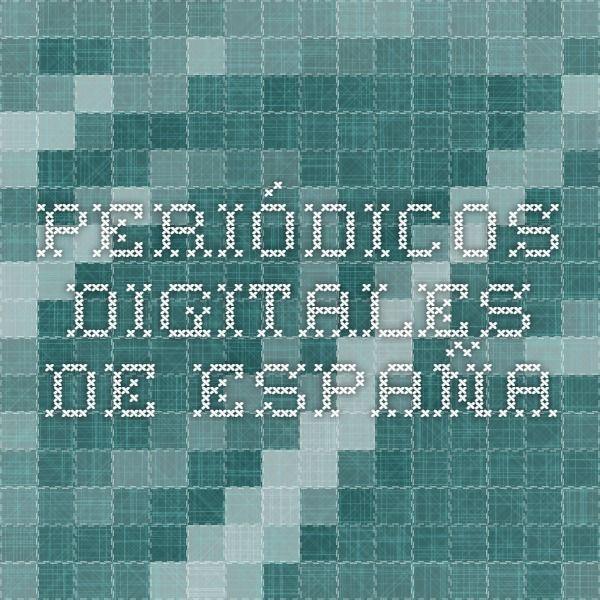 Periódicos digitales de España