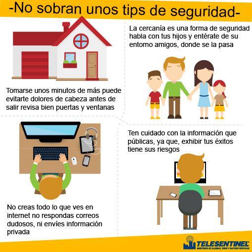 Siempre es bueno tomarse unos minutos para nuestra seguridad y cuidar lo que más queremos. www.telesentinel.com