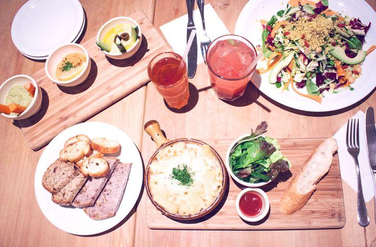 Le pain quotidien, Daikanyama, tokyo, japan, began, healthy, healthy food, hummus, detox salad