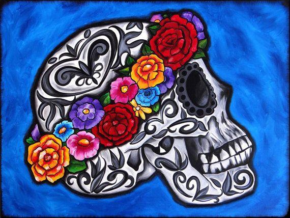 Día del arte muerto por Melody Smith Corona por UrbanArtByMelody