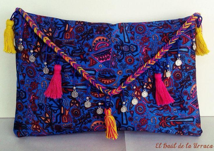 El Baúl de la Urraca: DIY - Customiza tus bolsos y carteras / Customize your bags and purses
