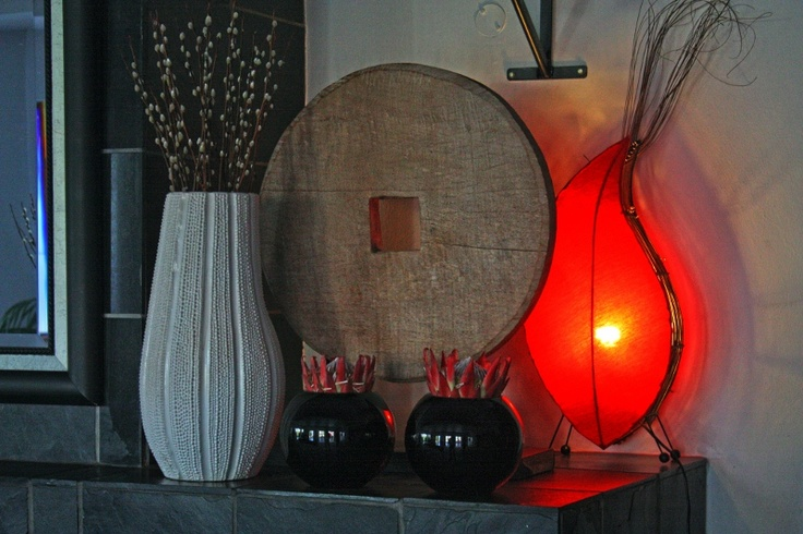 Lights on Afroc chic set up...