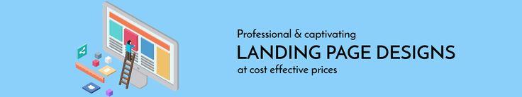 Landing Page Design Company   Hire Landing Page Designers USA
