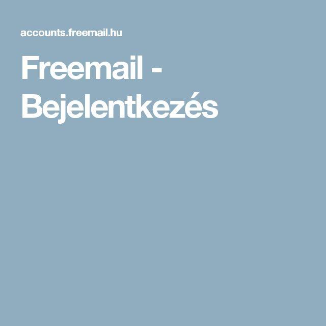 Freemail - Bejelentkezés