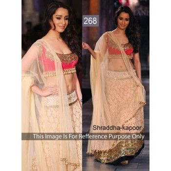 SHRADDHA KAPOOR QUEEN BEAUTY CREAM LEHENGA