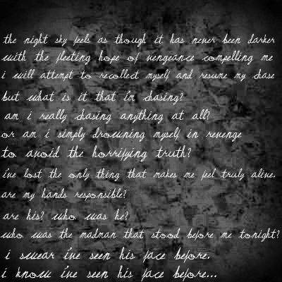 Alesana The Emptiness Quotes
