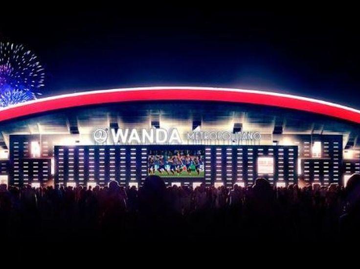Oficial: el nuevo estadio del Atlético de Madrid se llamará Wanda Metropolitano