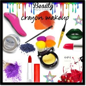 All the Colors: Crayon-Inspired Makeup