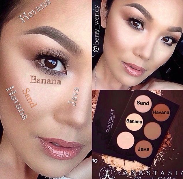 Highlighting And Countouring Using Anastasia Beverly Hills