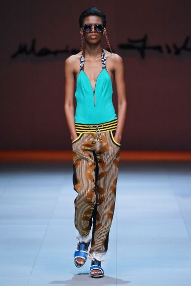 That's how you define cool. Marianne Fassler at 2014 MBFWCT