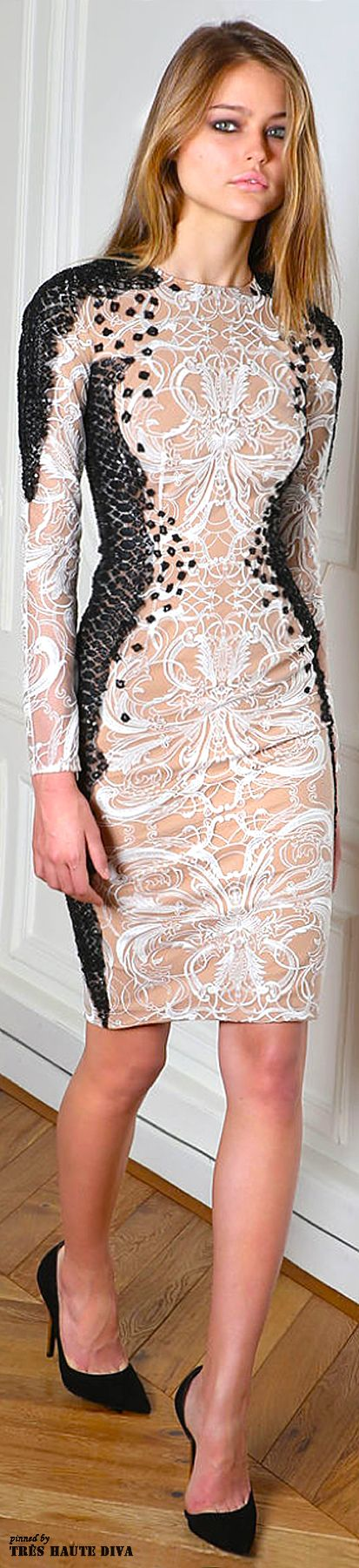 """#Paris Fashion Week #Zuhair #Murad Fall/Winter 2014 RTW (^.^) Thanks, Pinterest Pinners, for stopping by, viewing, re-pinning, & following my boards. Have a beautiful day! ^..^ and """"Feel free to share on Pinterest ^..^ #catsandme #cats #doghealthcareblog"""