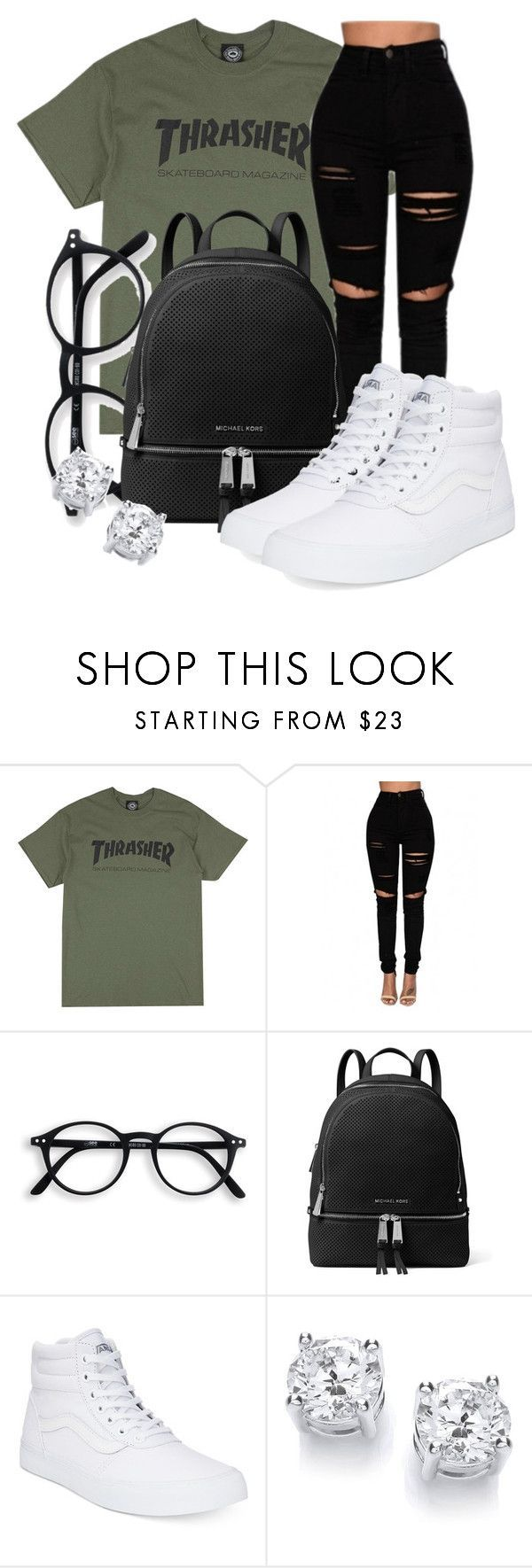 Untitled #570 by msfts-rep on Polyvore featuring MICHAEL Michael Kors and Vans -> SALE bis 70% auf Fashion -> klicken