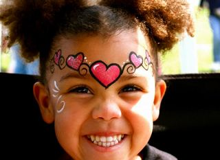 Heart Mask by Fairys and Frogs Face Painting Parties & Events Collierville 38017