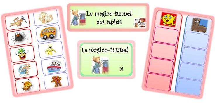 Le Magico-Tunnel - dys é moi Zazou et Madel