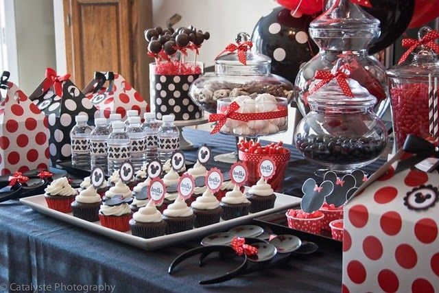 Party food: Party'S, Sweet, Birthday Parties, Mickey Mouse Parties, Minnie Mouse, Mouse Party, Party Ideas, Birthday Party
