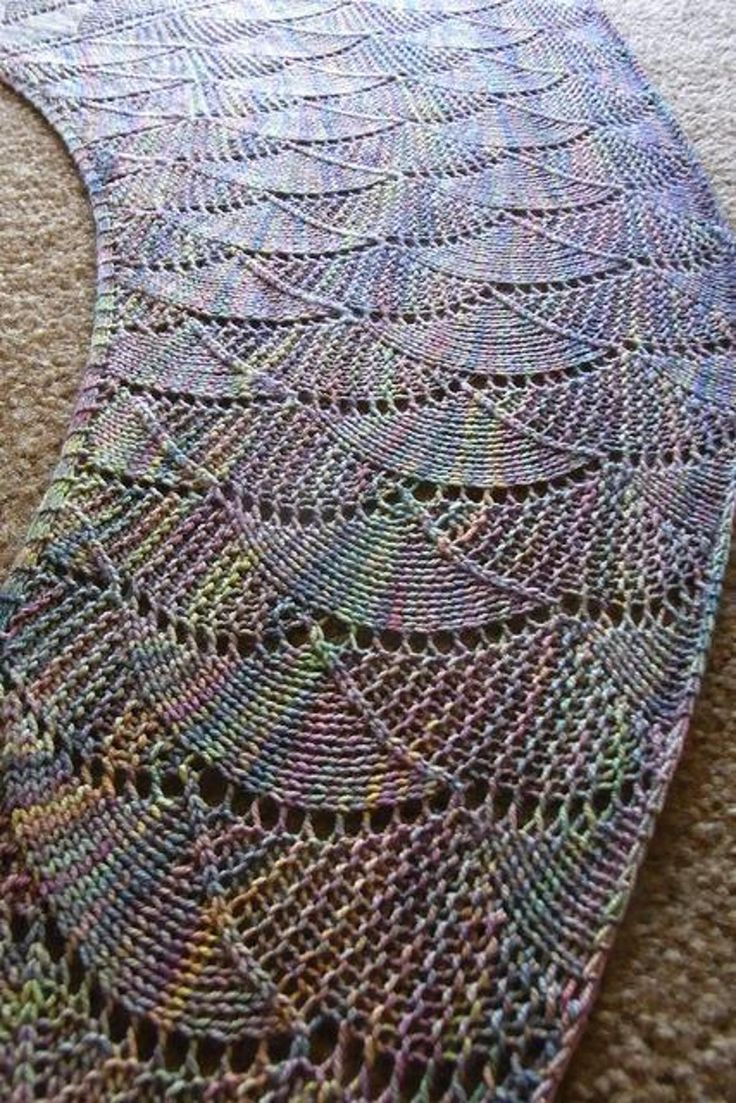 223 best knitted shawls images on pinterest ponchos knitted harlequin opal shawl bankloansurffo Choice Image