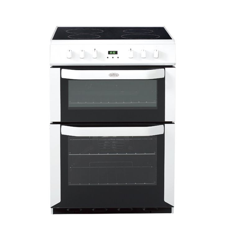 Freestanding 60cm electric double oven with programmable timer #Belling #UKmade #madeinBritian #British #cooker