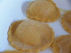Raviolis de calabaza