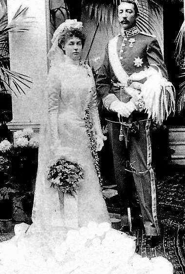 1899 Princess Isabelle and Jean marriage APFxKarlandZita 14Nov2010 mod