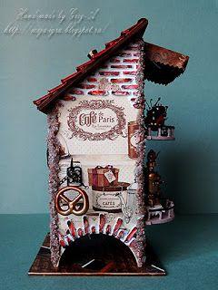 Совершенно сказочный чайный домик! Муха-цекотуха! много картинок и описания