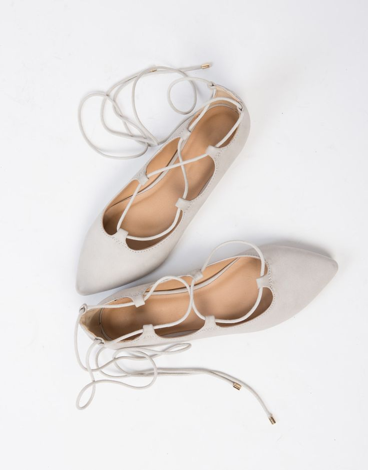 Lace Up Ballerina Flats! I own a pair of these and I get compliments everytime I walk out the door! #2020AVEXFESTIVAL
