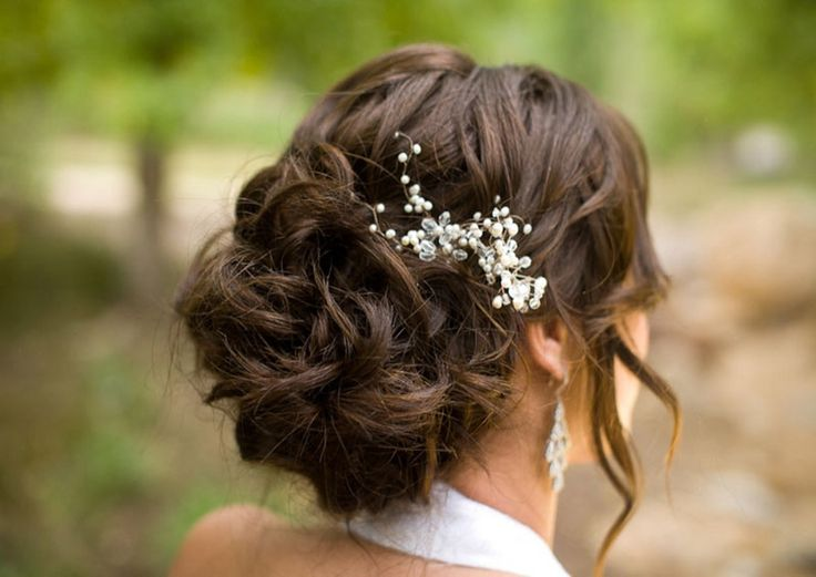 25 Best Ideas About Long Wedding Hairstyles On Pinterest: 25+ Best Ideas About Brunette Wedding Hairstyles On
