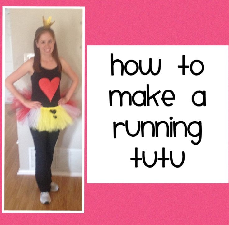 How to make a running tutu for a running costume - by RunsInTutus