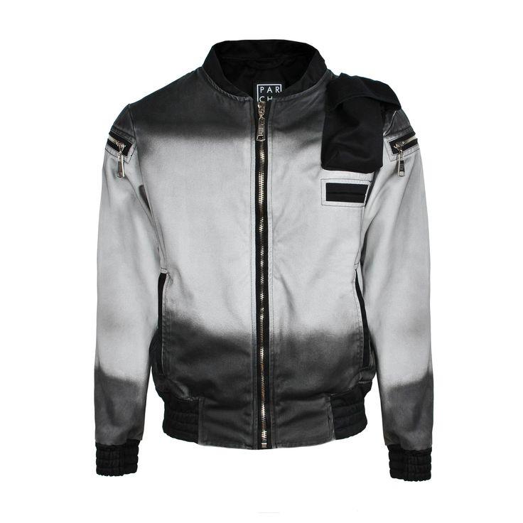PARCHETA bomber jacket. Model FIRMAMENT Ombre jacket   https://web.facebook.com/parcheta.clothing/