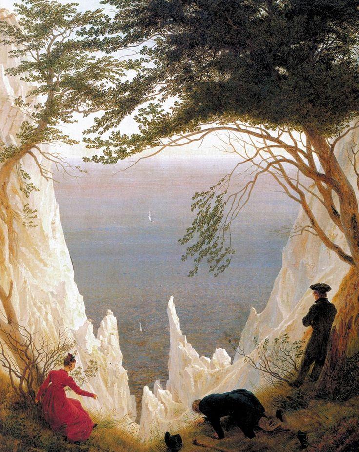 Caspar David Friedrich  Falaises de craies sur l'île de Rüngen  1818