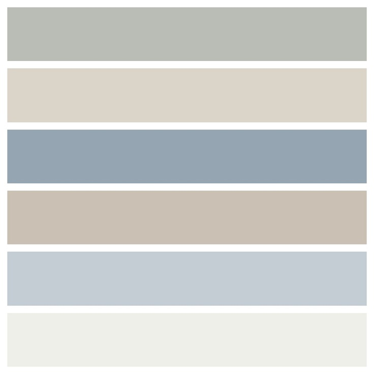 Paint colors from Josephine's house, season 6