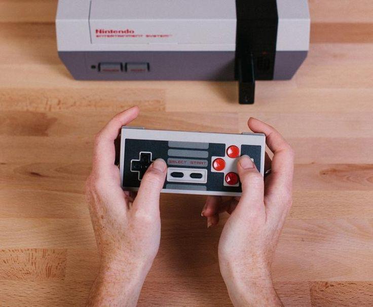 Retro Receiver lets you play NES Nintendo video games using wireless controller
