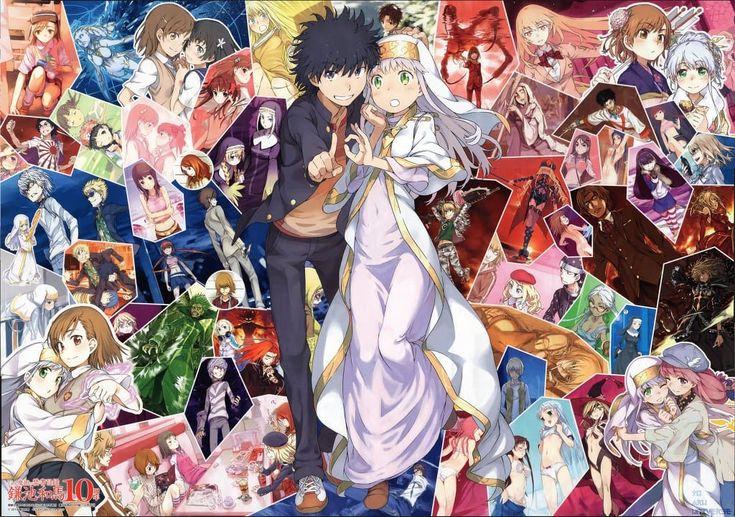 A Certain Magical Index Anime Light Novel A Certain Magical Index