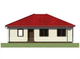 Typový dům | Bungalov 5A roubenka