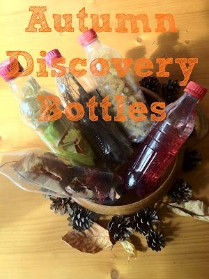 Autumn discovery bottles