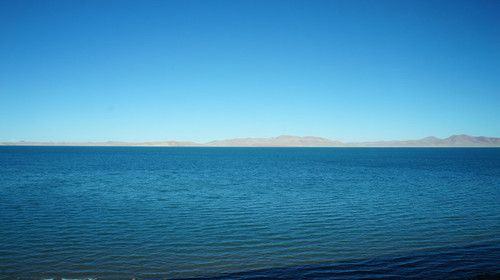 CuoNa Lake, the highest fresh water lake of the world, 4800m height.